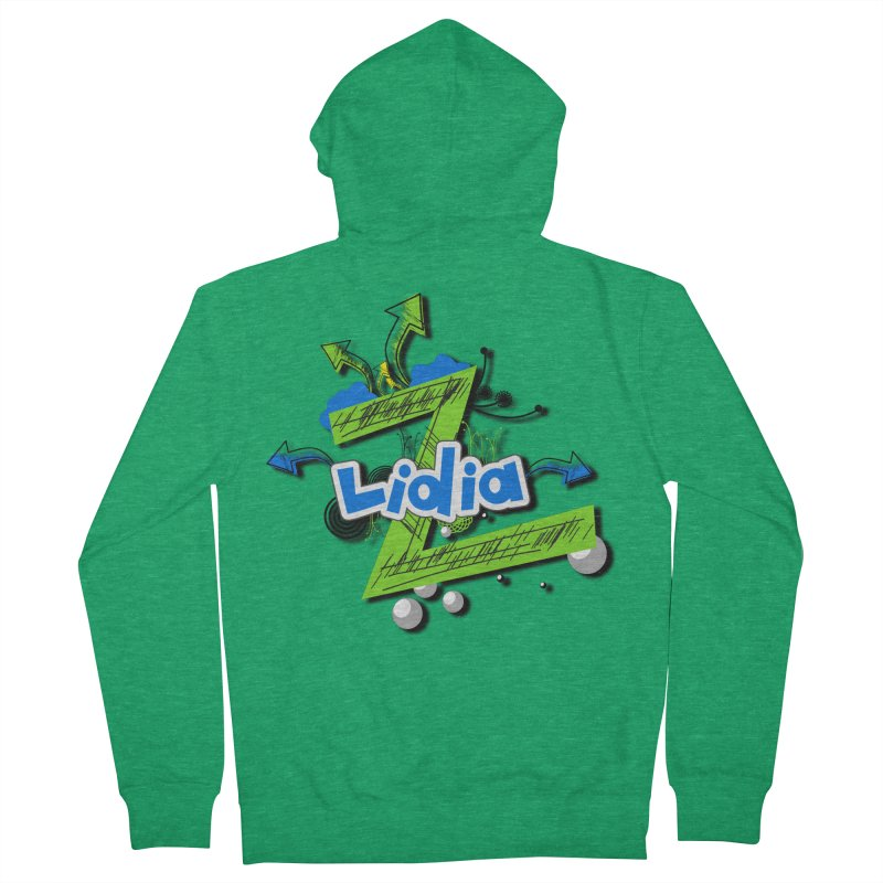 Lidia Women's Zip-Up Hoody by ZuniReds's Artist Shop