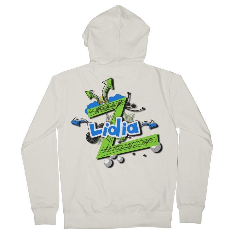 Lidia Men's Zip-Up Hoody by ZuniReds's Artist Shop