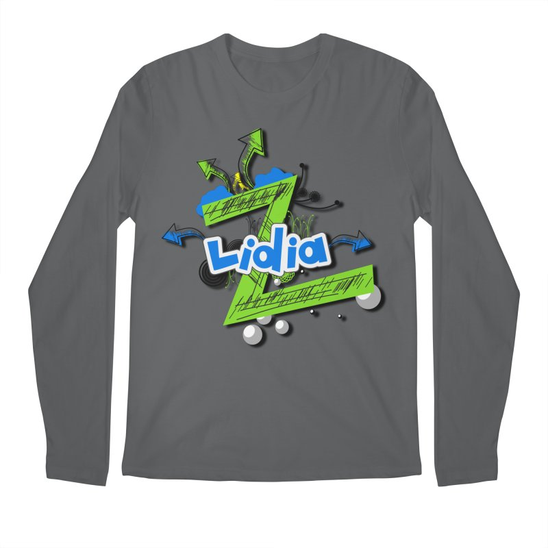 Lidia Men's Regular Longsleeve T-Shirt by ZuniReds's Artist Shop