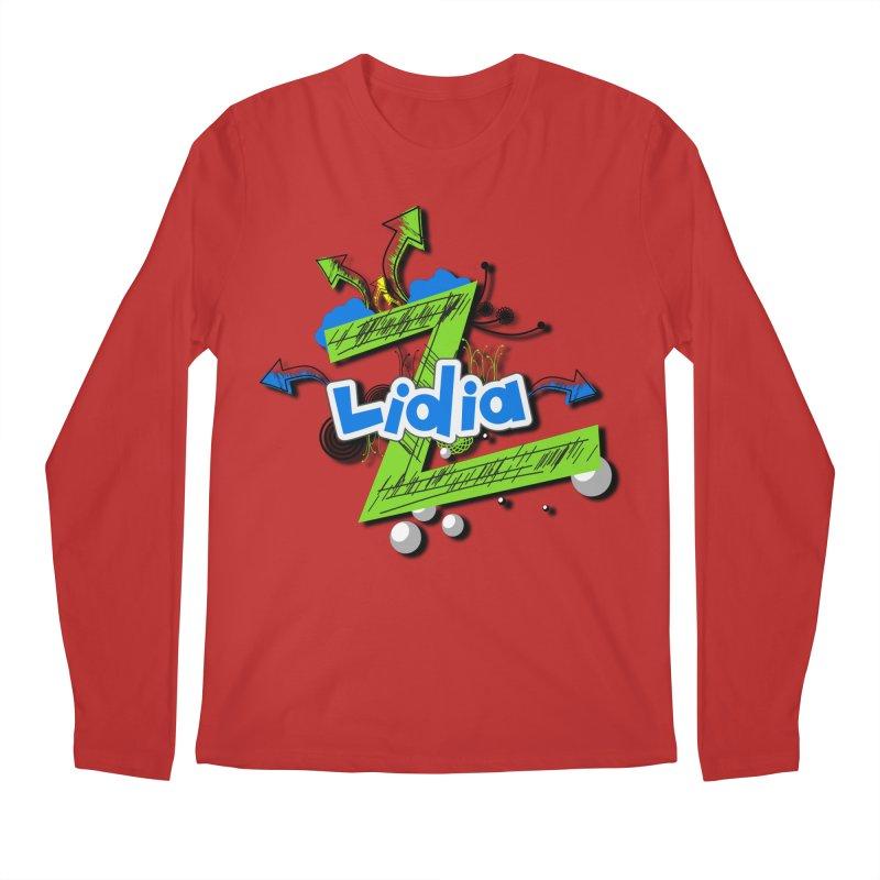 Lidia Men's Regular Longsleeve T-Shirt by ZuniReds's Artist Shop