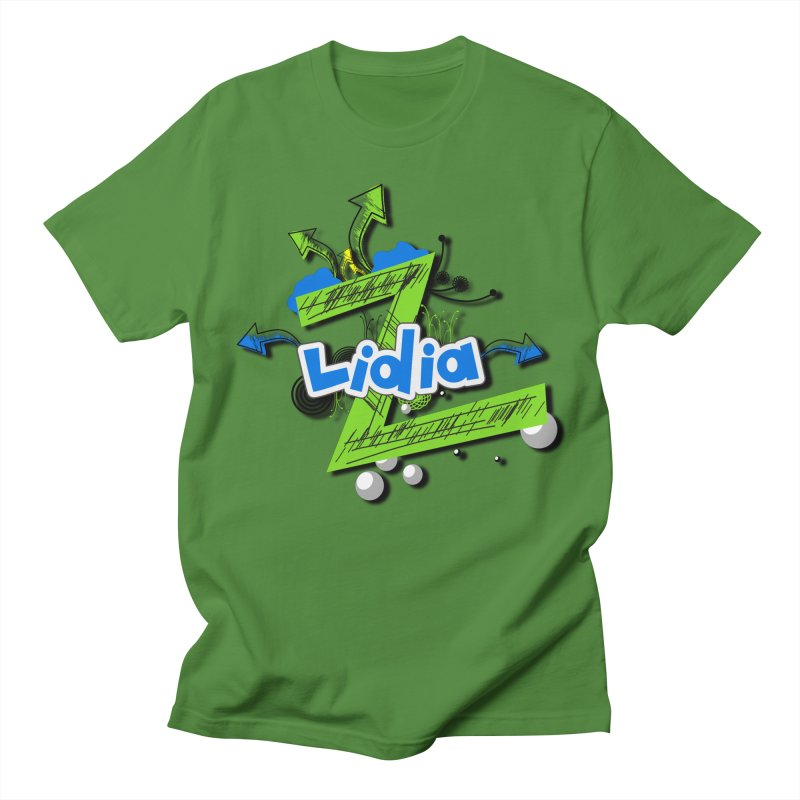 Lidia Women's Regular Unisex T-Shirt by ZuniReds's Artist Shop