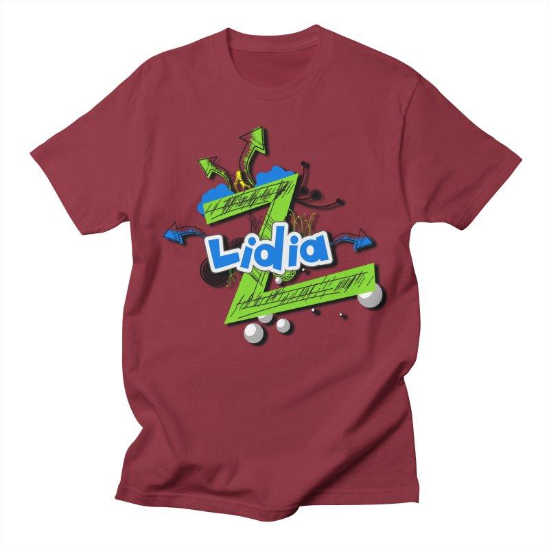Lidia Men's Regular T-Shirt by ZuniReds's Artist Shop