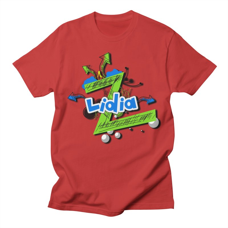 Lidia Men's T-Shirt by ZuniReds's Artist Shop
