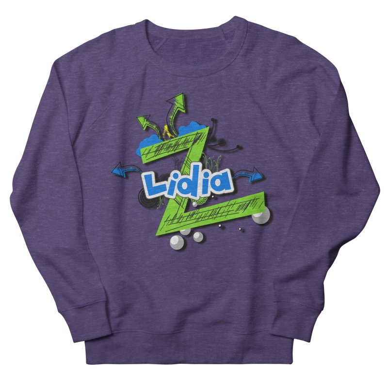 Lidia Women's French Terry Sweatshirt by ZuniReds's Artist Shop