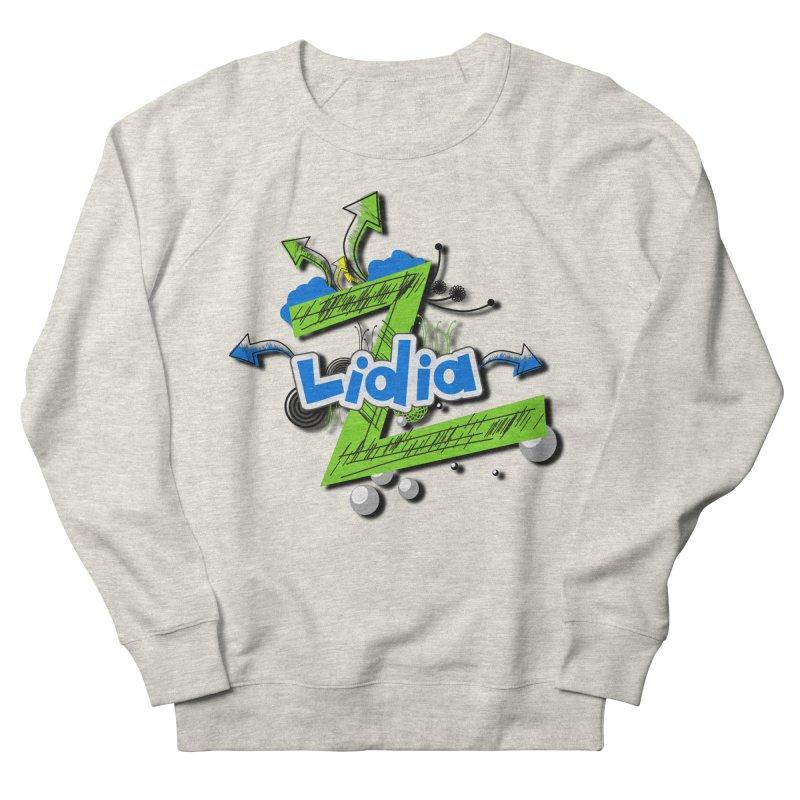 Lidia Women's French Terry Sweatshirt by ZuniReds's Artist Shop