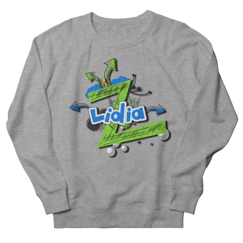 Lidia Men's French Terry Sweatshirt by ZuniReds's Artist Shop