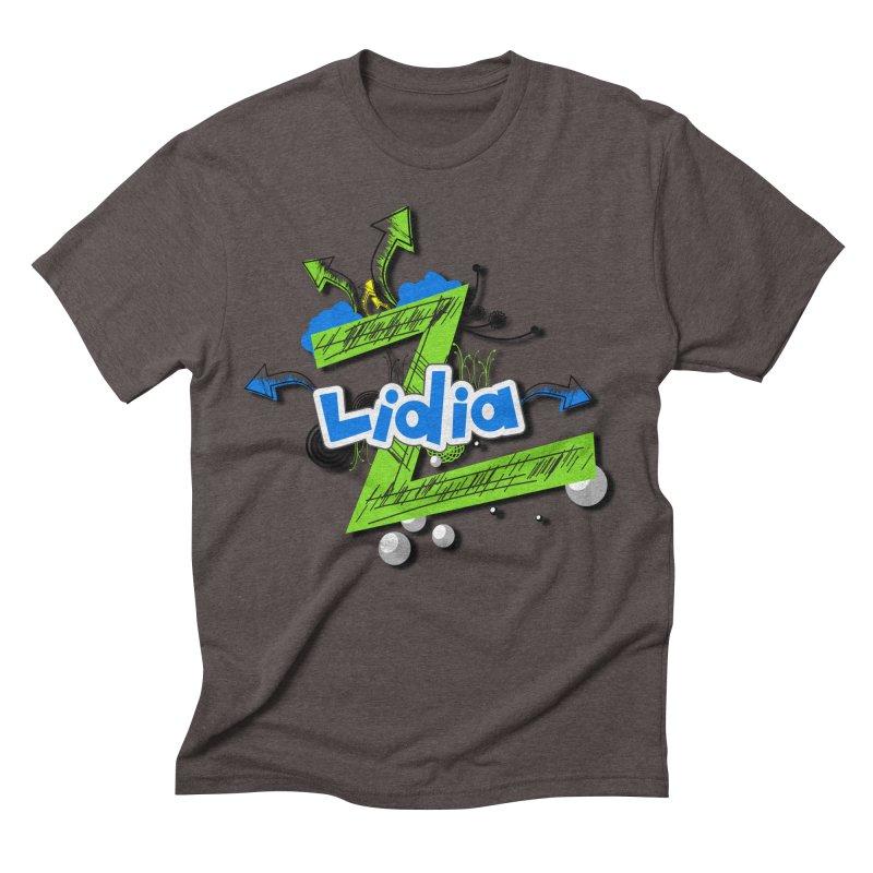 Lidia Men's Triblend T-Shirt by ZuniReds's Artist Shop