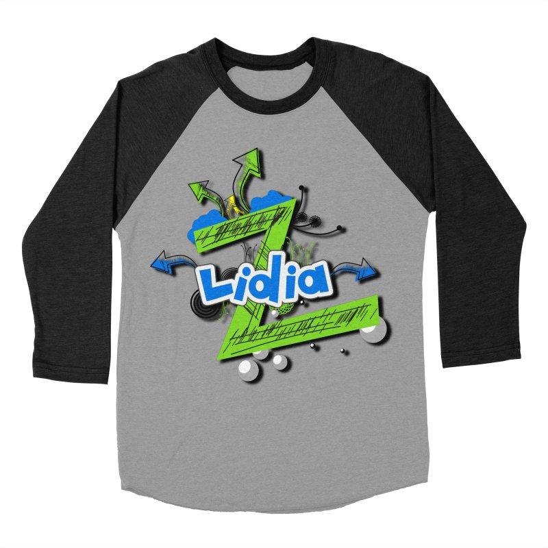 Lidia Men's Baseball Triblend Longsleeve T-Shirt by ZuniReds's Artist Shop