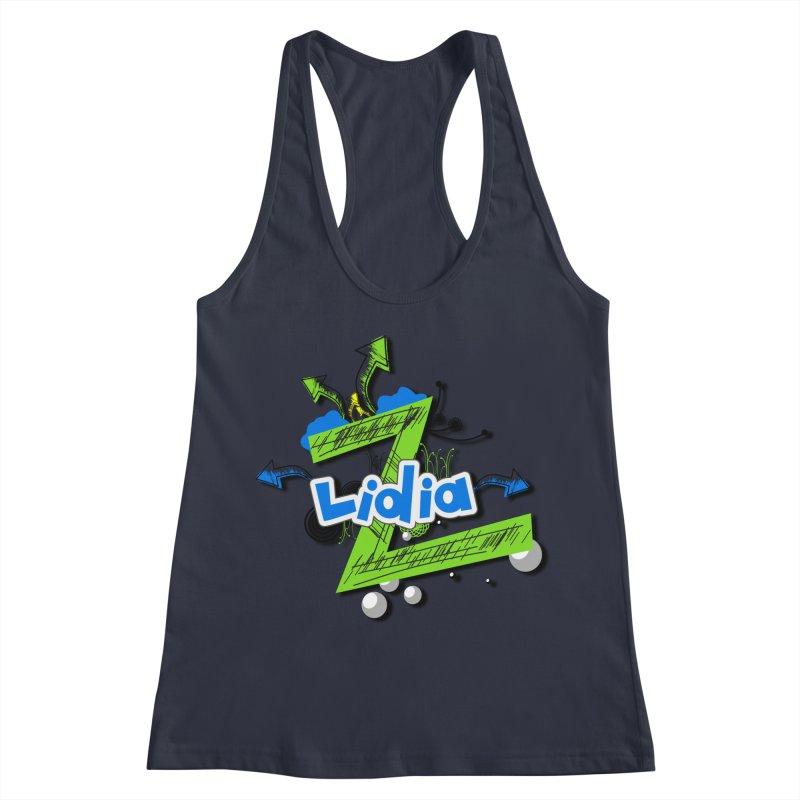 Lidia Women's Racerback Tank by ZuniReds's Artist Shop