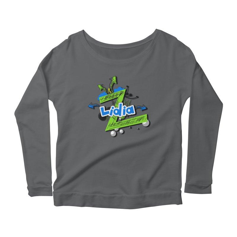 Lidia Women's Scoop Neck Longsleeve T-Shirt by ZuniReds's Artist Shop