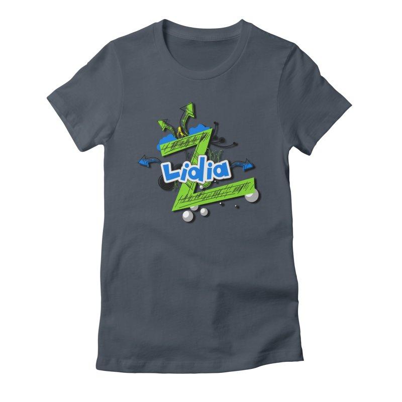 Lidia Women's Fitted T-Shirt by ZuniReds's Artist Shop