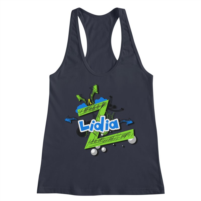 Lidia Women's Racerback Tank by ZuniReds's Artist Shop