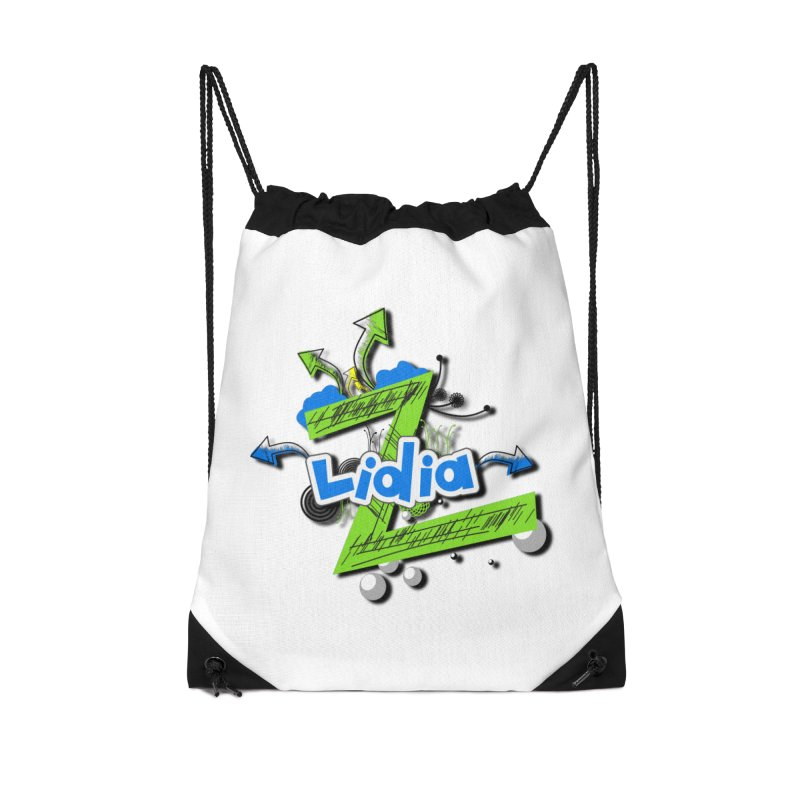 Lidia Accessories Drawstring Bag Bag by ZuniReds's Artist Shop