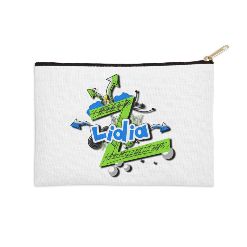 Lidia Accessories Zip Pouch by ZuniReds's Artist Shop