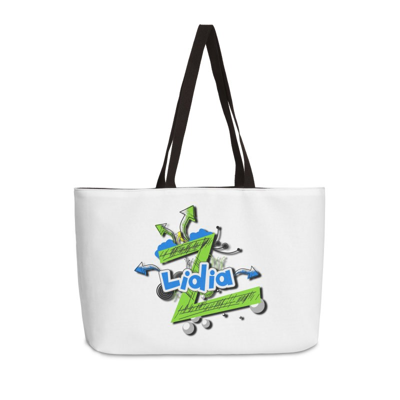 Lidia Accessories Weekender Bag Bag by ZuniReds's Artist Shop