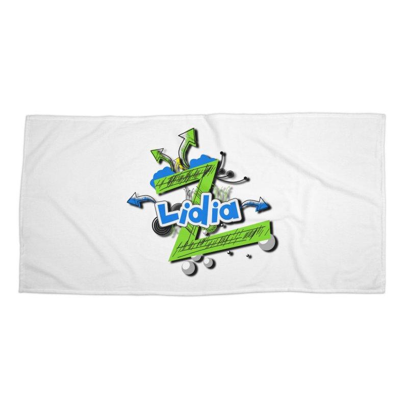 Lidia Accessories Beach Towel by ZuniReds's Artist Shop