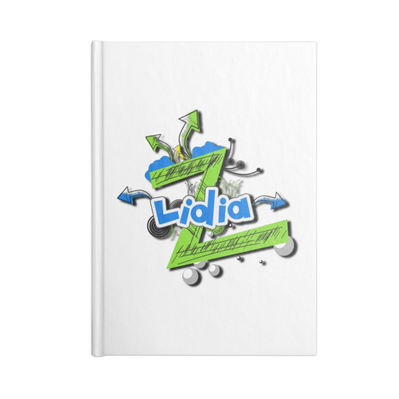 Lidia Accessories Lined Journal Notebook by ZuniReds's Artist Shop