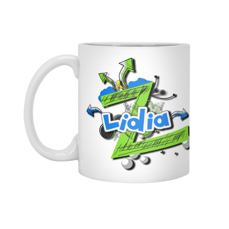 Lidia Accessories Standard Mug by ZuniReds's Artist Shop