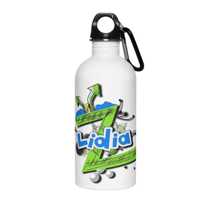 Lidia Accessories Water Bottle by ZuniReds's Artist Shop