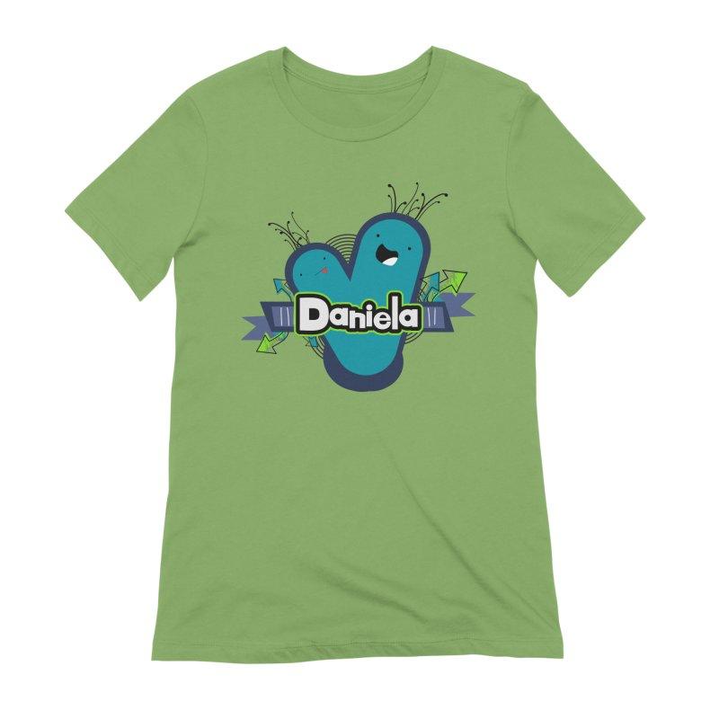 Daniela Women's Extra Soft T-Shirt by ZuniReds's Artist Shop