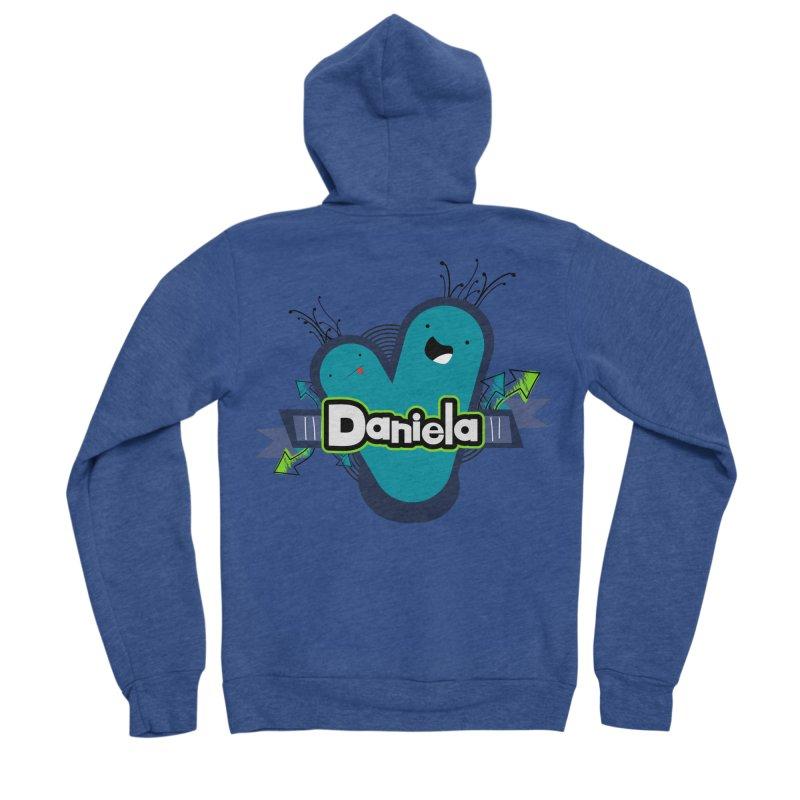 Daniela Women's Sponge Fleece Zip-Up Hoody by ZuniReds's Artist Shop