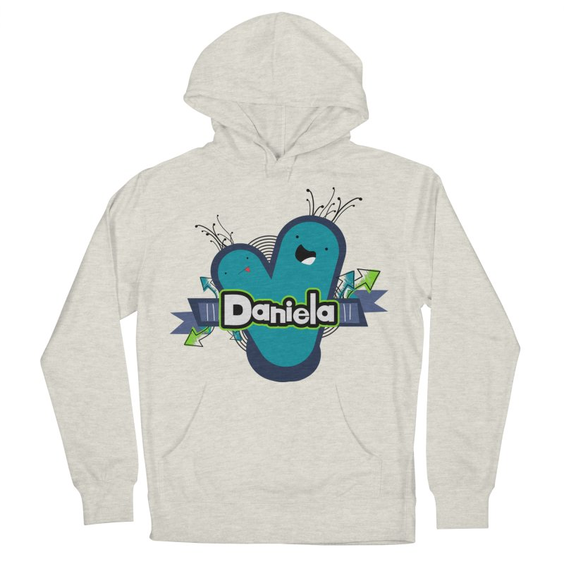 Daniela Women's French Terry Pullover Hoody by ZuniReds's Artist Shop