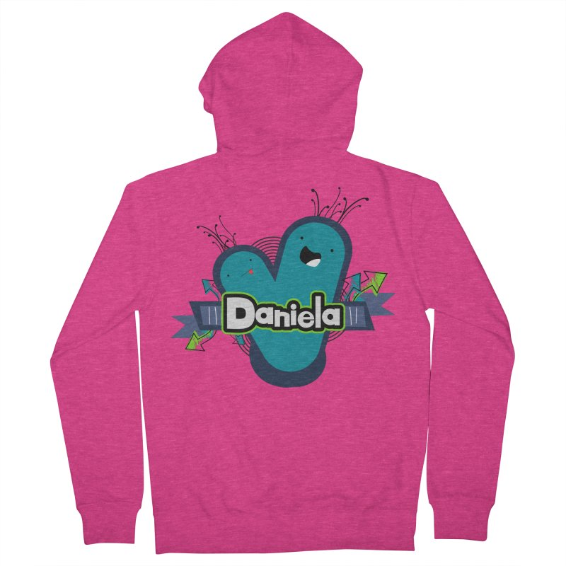 Daniela Women's French Terry Zip-Up Hoody by ZuniReds's Artist Shop