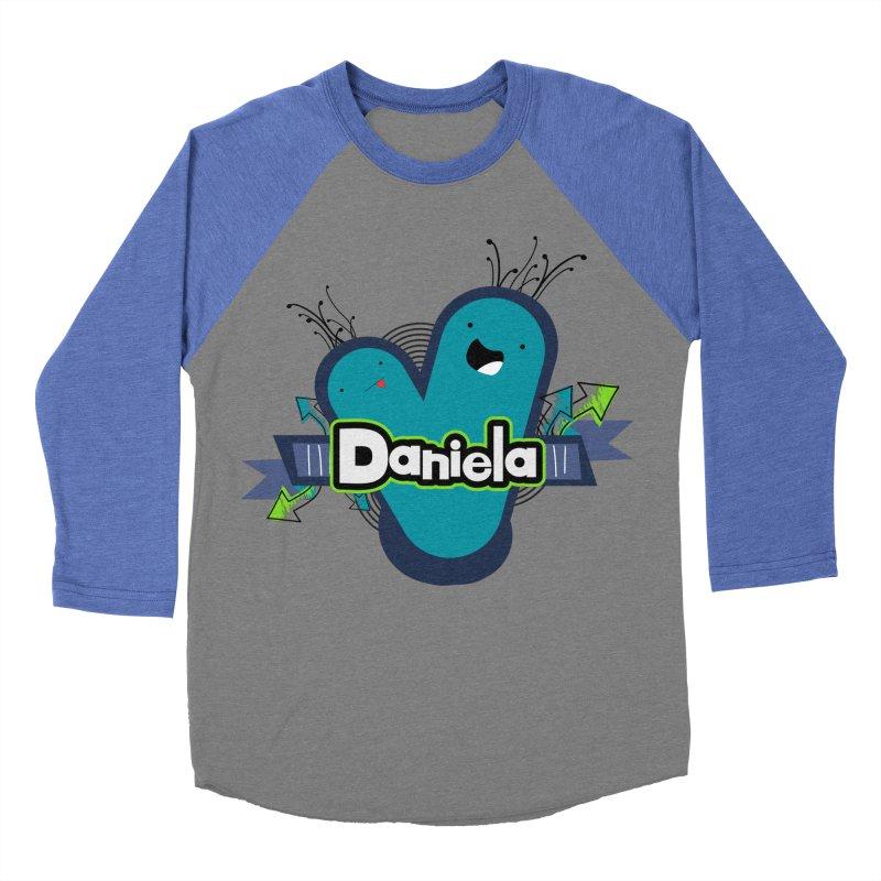 Daniela Women's Baseball Triblend Longsleeve T-Shirt by ZuniReds's Artist Shop