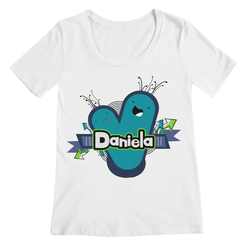 Daniela Women's Regular Scoop Neck by ZuniReds's Artist Shop