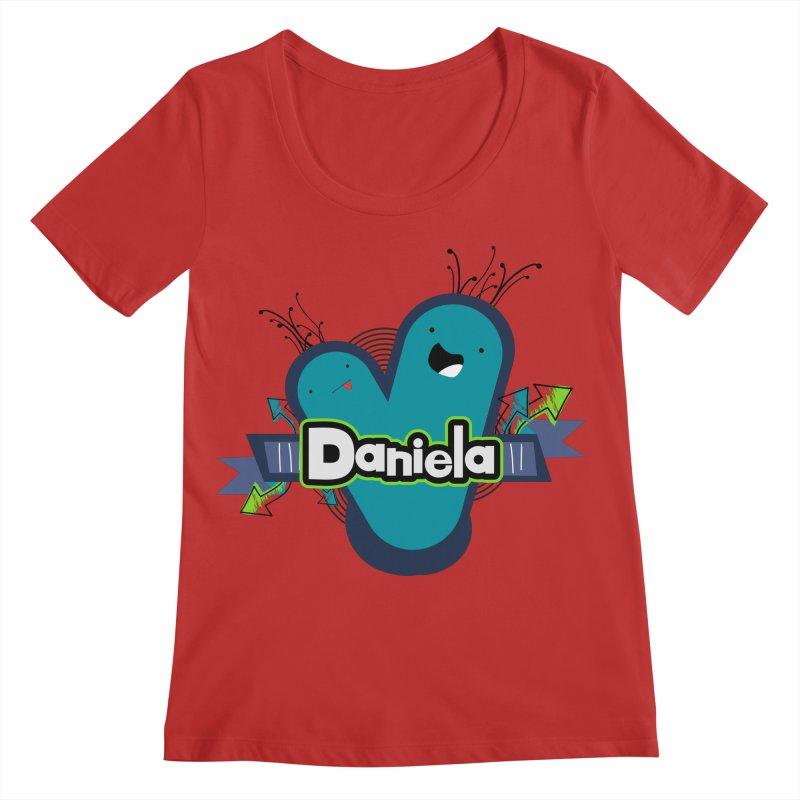 Daniela Women's Regular Scoop Neck by ZuniReds's Artist Shop