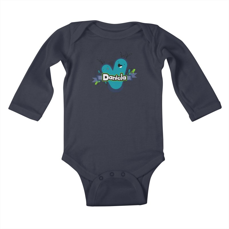 Daniela Kids Baby Longsleeve Bodysuit by ZuniReds's Artist Shop