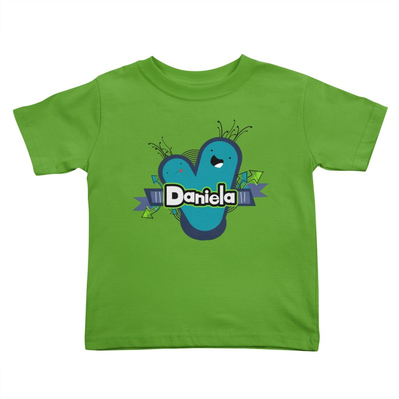 Daniela Kids Toddler T-Shirt by ZuniReds's Artist Shop