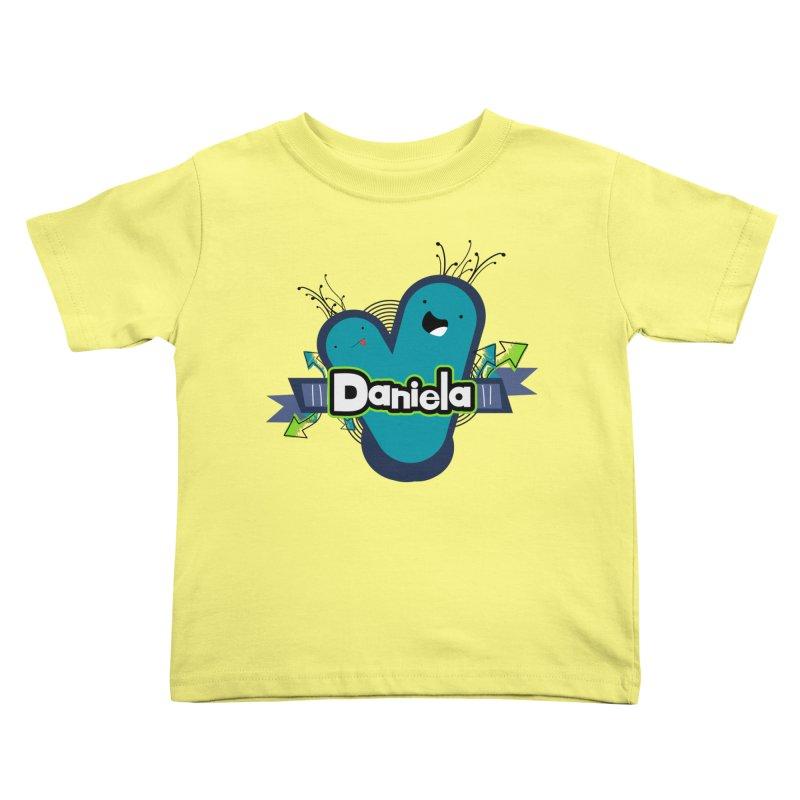 Daniela Kids Toddler T-Shirt by ZuniReds's Artist Shop