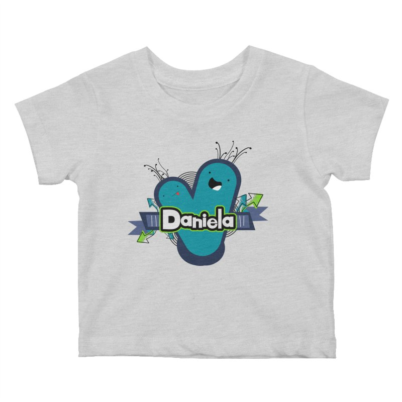 Daniela Kids Baby T-Shirt by ZuniReds's Artist Shop