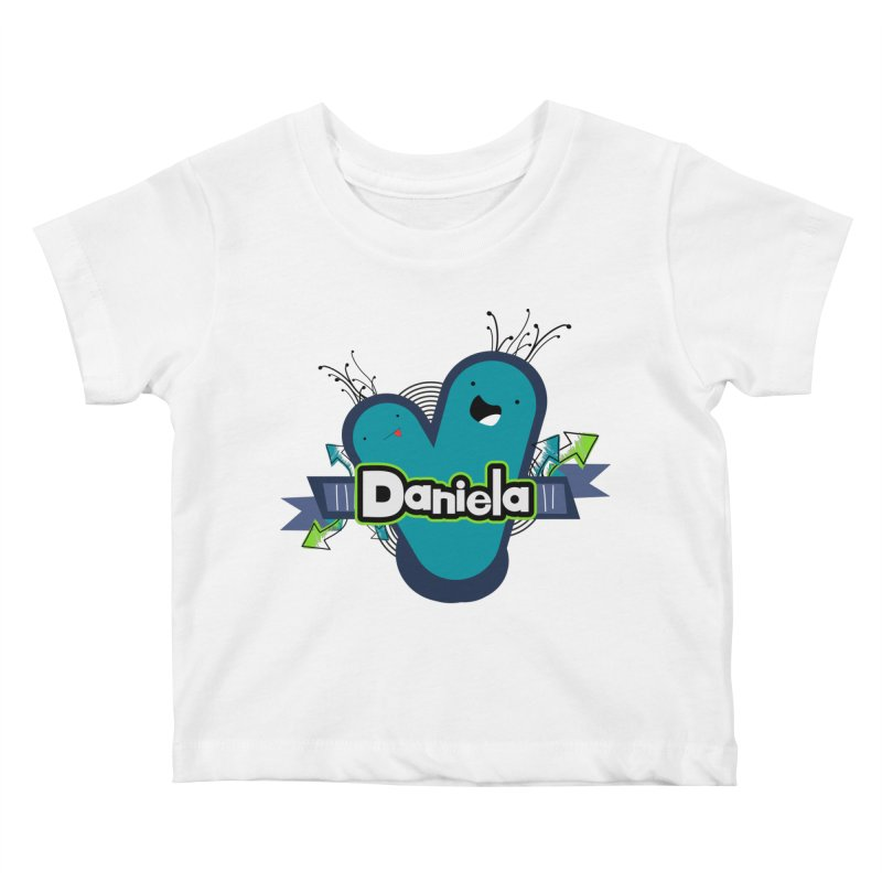 Daniela Kids Baby T-Shirt by ZuniReds's Artist Shop