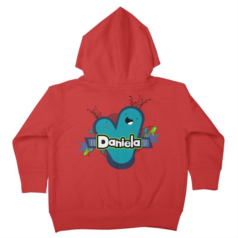 Daniela Kids Toddler Zip-Up Hoody by ZuniReds's Artist Shop