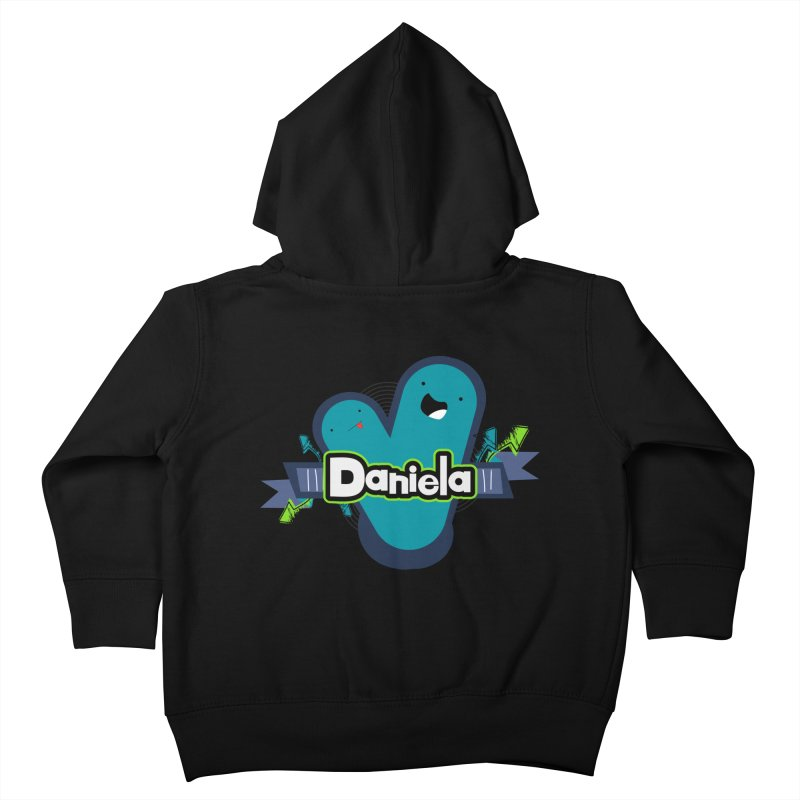 Daniela Kids Toddler Zip-Up Hoody by ZuniReds's Artist Shop