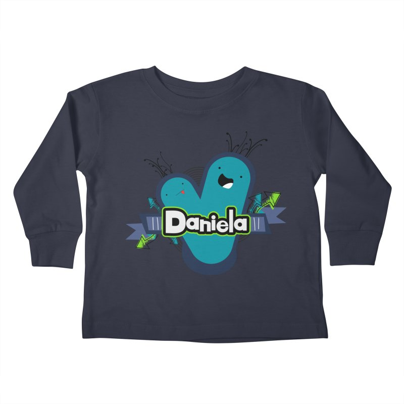 Daniela Kids Toddler Longsleeve T-Shirt by ZuniReds's Artist Shop