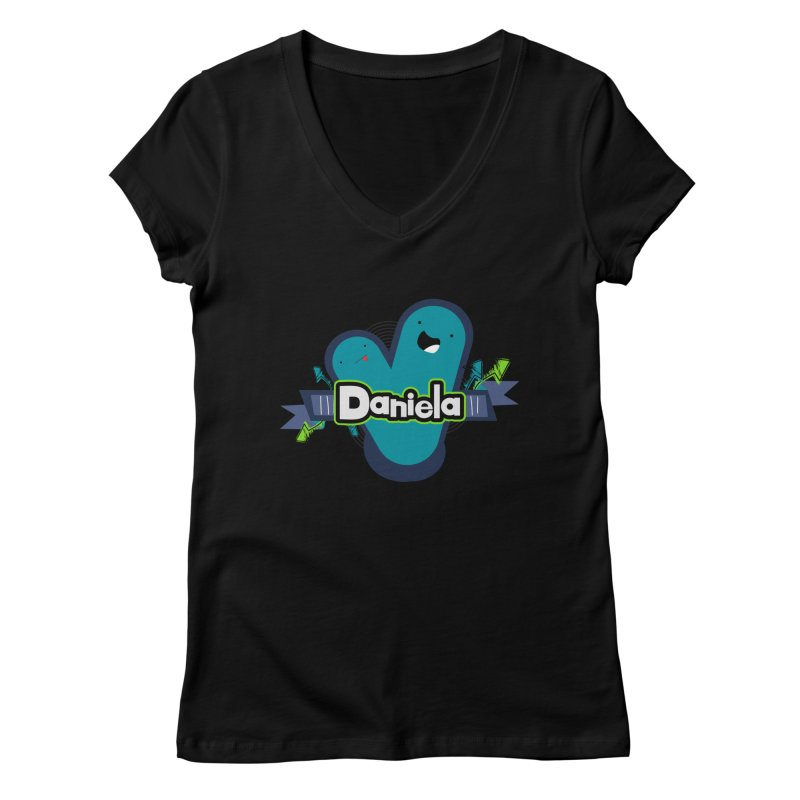 Daniela Women's V-Neck by ZuniReds's Artist Shop