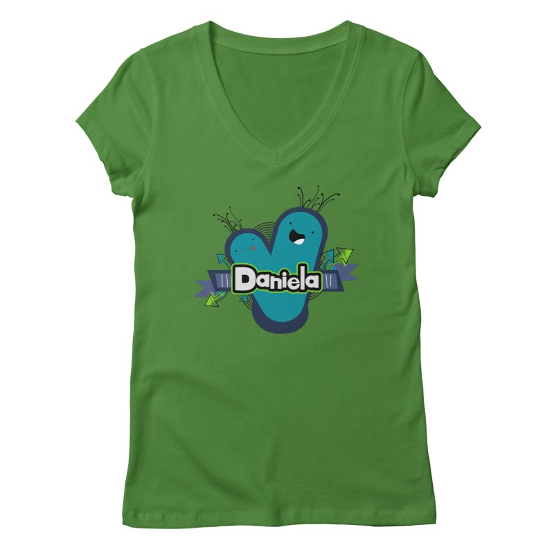 Daniela Women's Regular V-Neck by ZuniReds's Artist Shop
