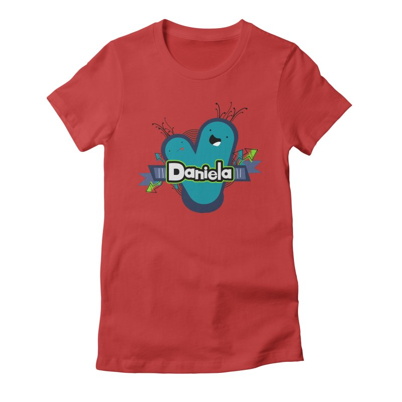 Daniela Women's Fitted T-Shirt by ZuniReds's Artist Shop