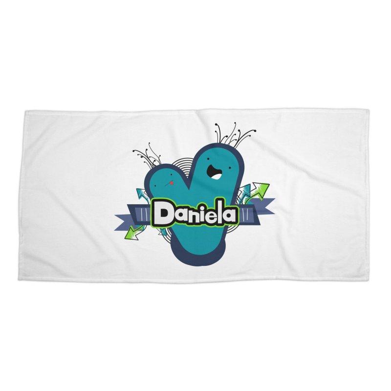 Daniela Accessories Beach Towel by ZuniReds's Artist Shop