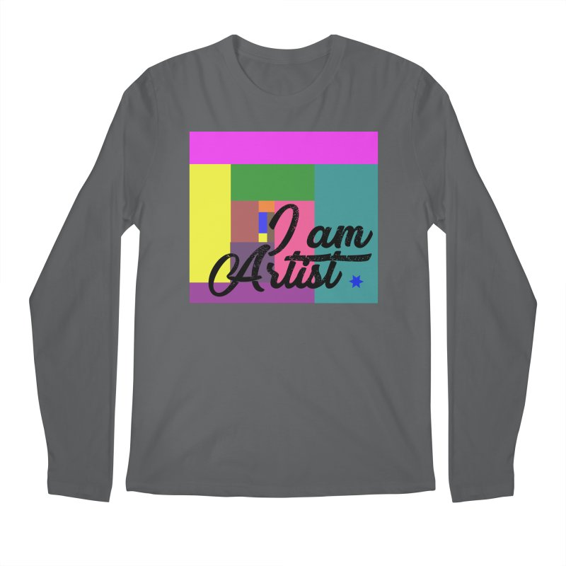 I AM ARTIST Men's Longsleeve T-Shirt by ZuniReds's Artist Shop