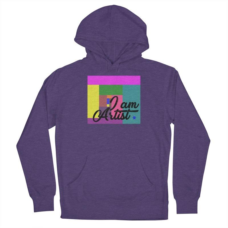 I AM ARTIST Men's Pullover Hoody by ZuniReds's Artist Shop