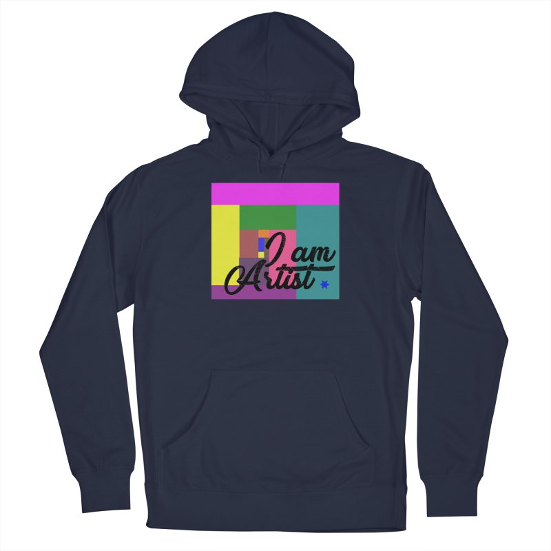 I AM ARTIST Men's Pullover Hoody by ZuniReds's Artist Shop