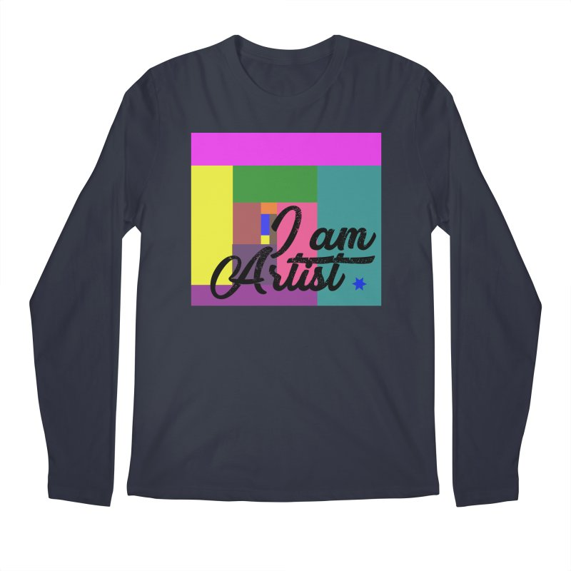 I AM ARTIST Men's Regular Longsleeve T-Shirt by ZuniReds's Artist Shop