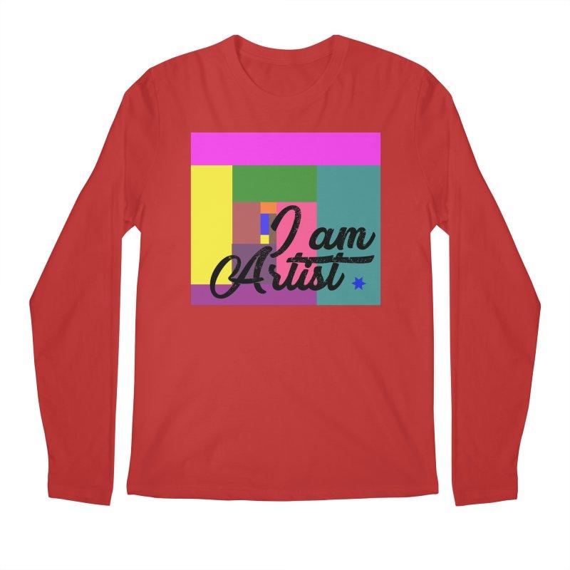 I AM ARTIST Men's Longsleeve T-Shirt by ZuniReds's Artist Shop