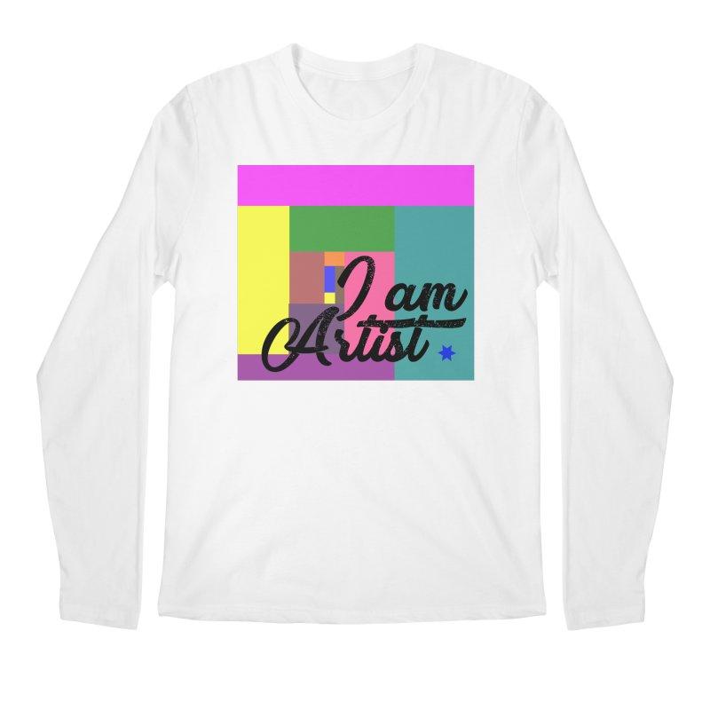 I AM ARTIST Men's Regular Longsleeve T-Shirt by ZuniReds's Artist Shop