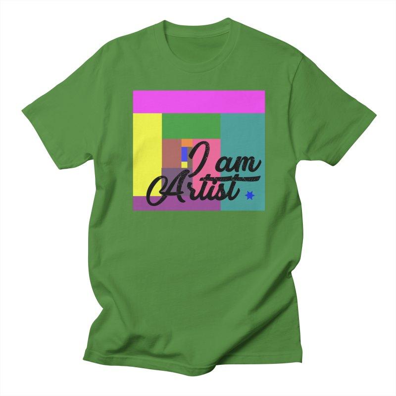 I AM ARTIST Women's T-Shirt by ZuniReds's Artist Shop
