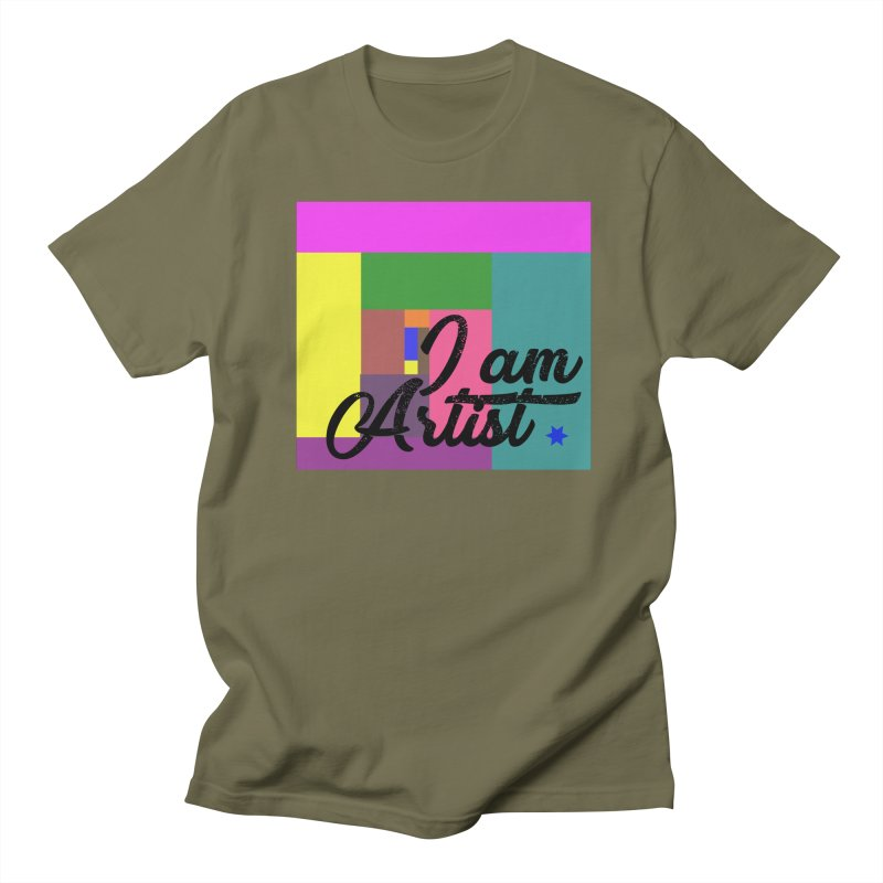 I AM ARTIST Women's T-Shirt by ZuniReds's Artist Shop